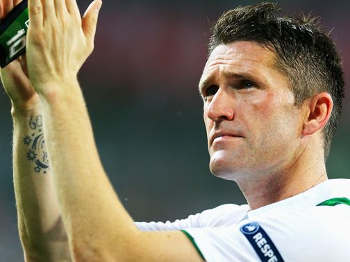 Robbie Keane: Achilles trouble