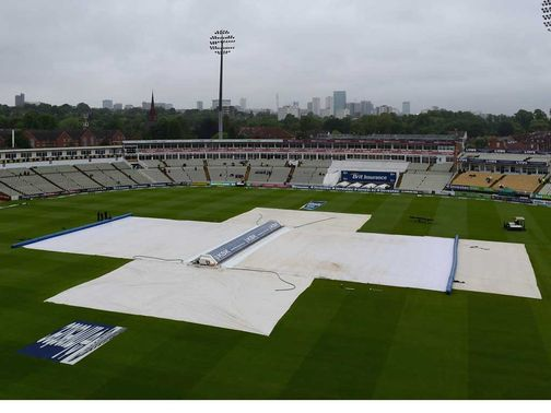 Edgbaston: Called off. Test drawn