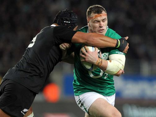 Cian Healy: Banned until March 10 for stamp
