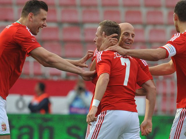 Hungary: 2-1 winners against Estonia