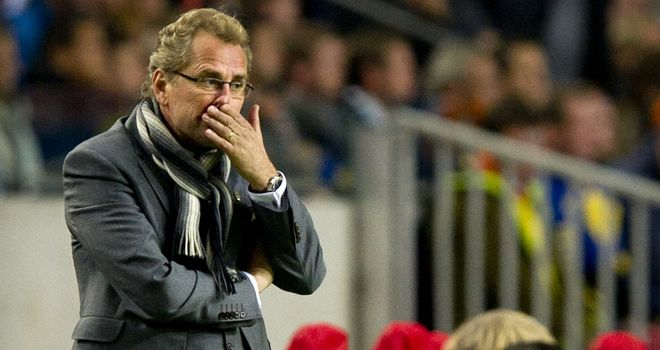 Erik Hamren: Swedish coach wants chance to improve side