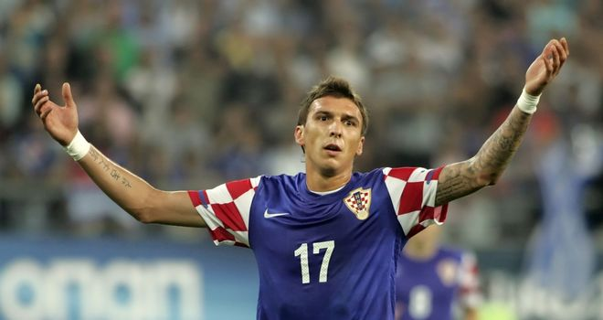 Mario Mandzukic: On cusp of moving to Bayern Munich from Wolfsburg