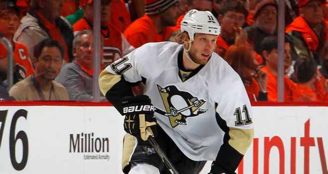 Jordan Staal: Has been traded to the Hurricanes