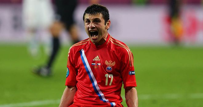 Alan Dzagoev: Talented Russia youngster was on target again in draw with Poland