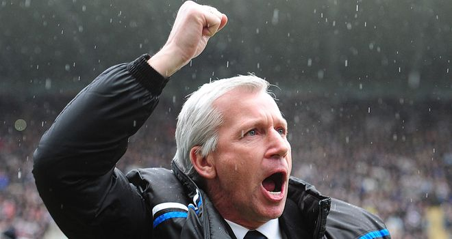 Alan Pardew: Saw his side concede early on and spurn several chances