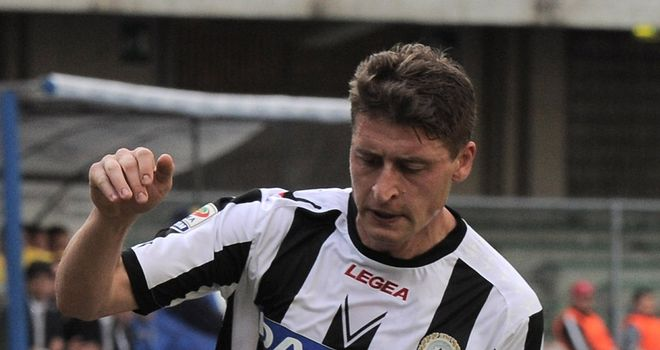 Andrea Coda: Udinese defender has signed a new five-year contract