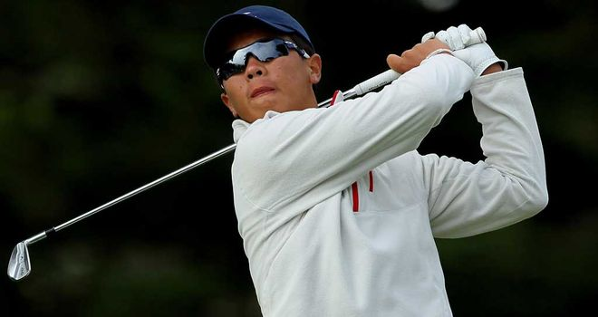 Zhang: Eight over after five holes