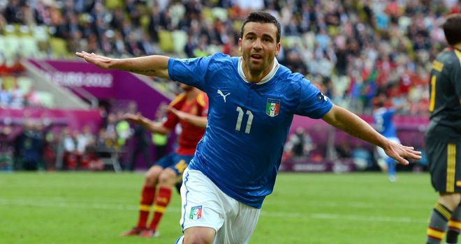 Antonio Di Natale: The Italy international has signed a one-year extension to his contract at Udinese