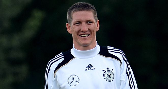 Bastian Schweinsteiger: Should be fit for Germany's opener against Portugal