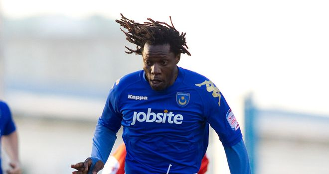 Benjani: Former Portsmouth striker has moved to South Africa