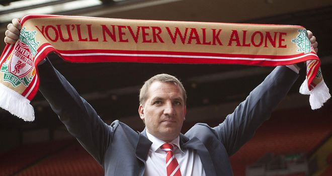 Brendan Rodgers: In the process of trying to strengthen his Liverpool squad