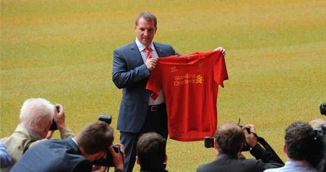 Brendan Rodgers: Determined to take the pressure off Liverpool's players