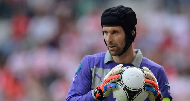 Petr Cech: Barely tested as Czech Republic kept a clean sheet