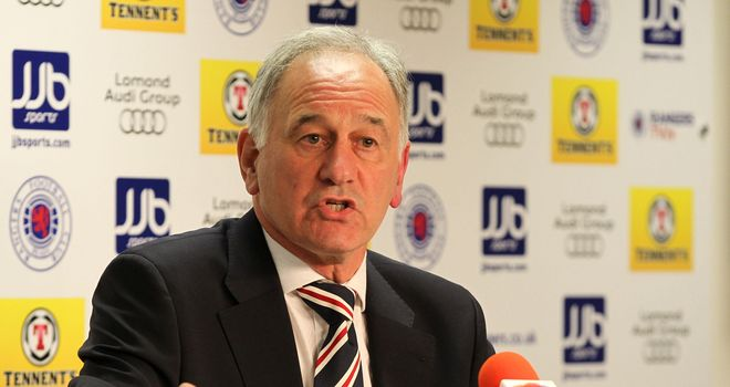 Charles Green: Rangers chief executive has reiterated his warning regarding legal action