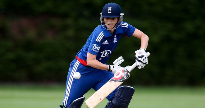 Charlotte Edwards: Hit 78 runs from 94 balls as England claimed victory