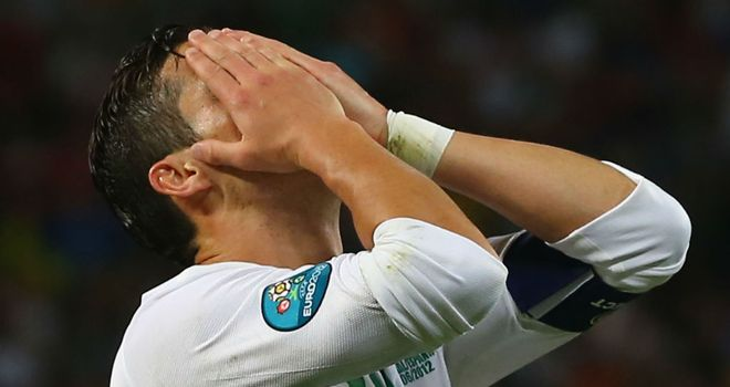 Cristiano Ronaldo: Was robbed of the opportunity to take a penalty as Portugal bowed out