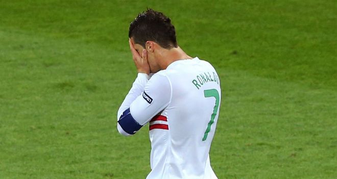 Cristiano Ronaldo: Struggling to produce his club form on the international stage