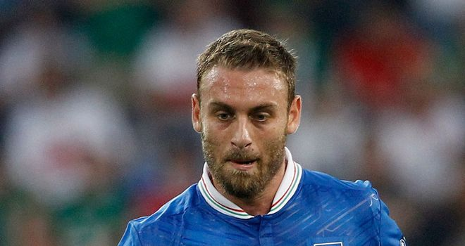 Daniele De Rossi: Was forced off against England with a sciatic nerve complaint