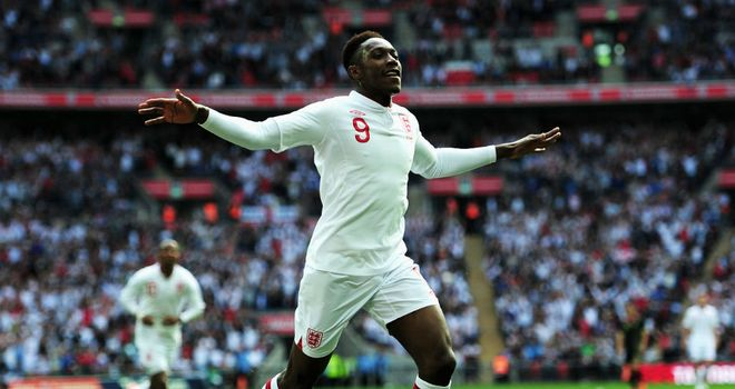 Danny Welbeck: Will be looking to get the better of Olof Mellberg in Kiev