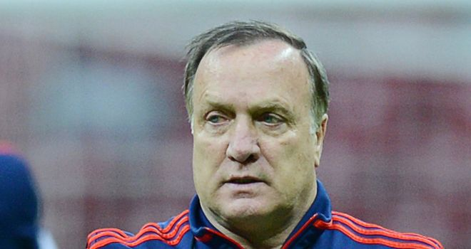 Dick Advocaat: Russia coach confident of getting a win against Greece in Group A