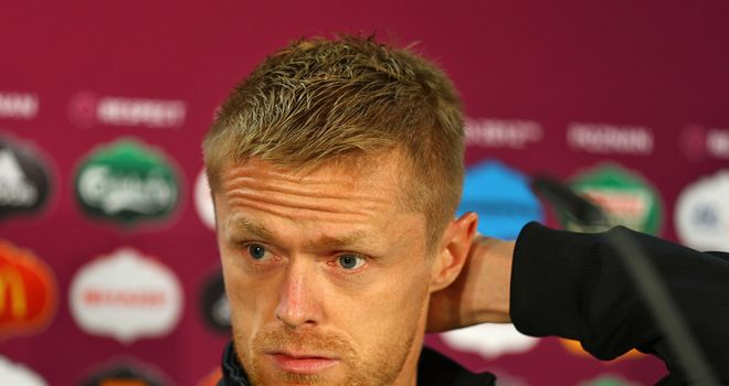 Damien Duff: The shy guy of the Irish team faces the press ahead of his 100th game