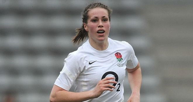 Emily Scarratt: Scored a try in the final for England