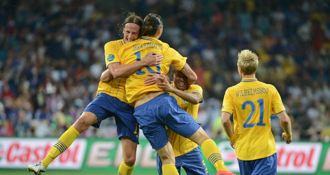 Zlatan Ibrahimovic: Delighted with the belief shown by his Sweden team-mates