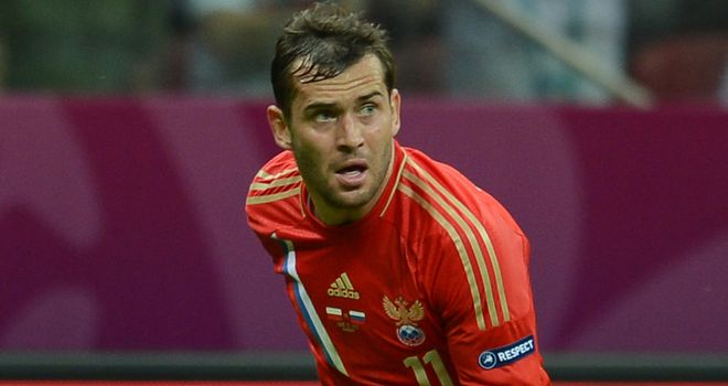 Alexander Kerzhakov: Scored twice in Russia's 4-0 away win over Israel