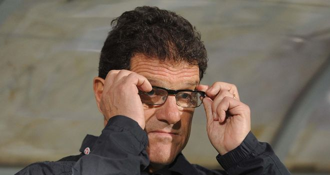 Fabio Capello: Is set to arrive in Moscow on Friday in order to sign a deal to coach the Russian national team