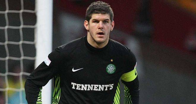 Fraser Forster: The Celtic goalkeeper will warm up for the defence of their SPL title with a Champions League third-round qualifier against HJK Helsinki