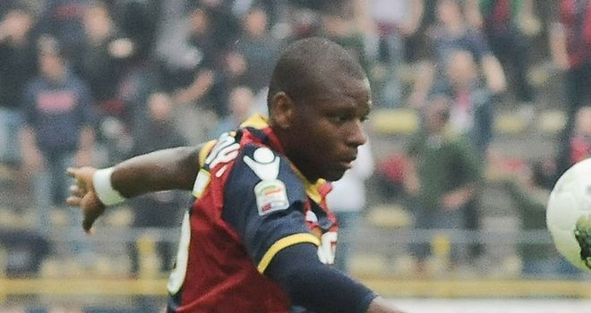 Gaby Mudingayi: Is set to move to Inter Milan after Bologna president Albano Guaraldi confirmed a fee had been agreed