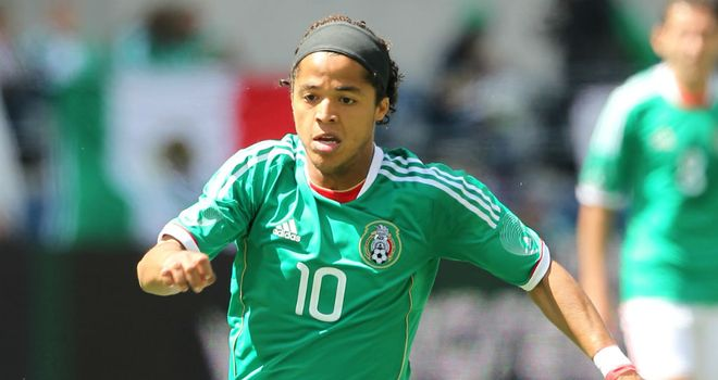 Giovani dos Santos: Scored one and made the other as Mexico beat Brazil