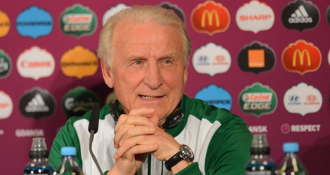 Giovanni Trapattoni: Republic of Ireland coach intends to carry on after Euro 2012 disappointment