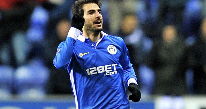 Jordi Gomez: Ready to visit former club Swansea with Wigan