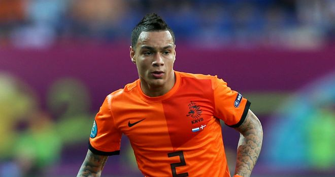 Gregory van der Wiel: Set to arrive in the French capital ahed of proposed move to Paris Saint-Germain