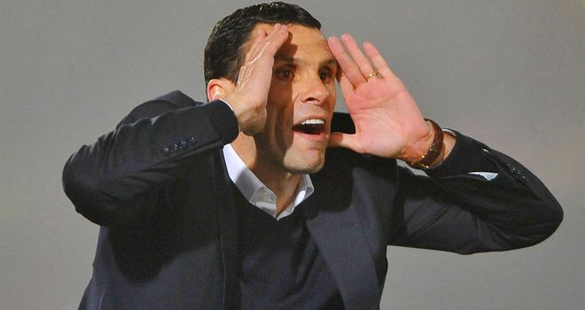 Gus Poyet: Would see his Seagulls fly to the top of the Championship with a win on Friday