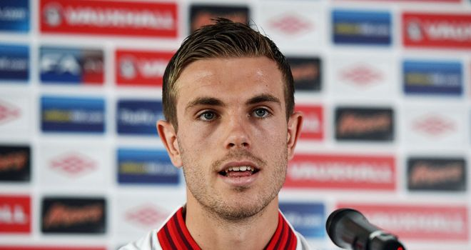 Jordan Henderson: England midfielder insists criticism drives him on