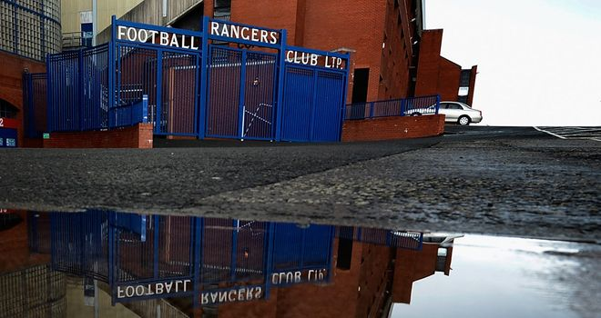 Ibrox: The famous old ground looks unlikely to be featuring an SPL fixture in the near future
