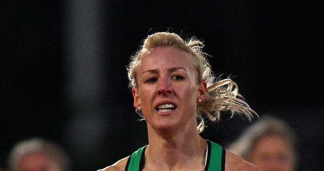 Jemma Simpson: Hoping her appeal will see her selected for the 800m