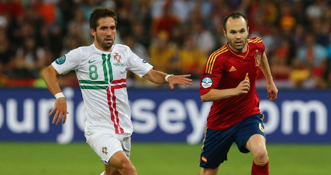 Joao Moutinho: Was excellent during Euro 2012