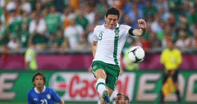 Keith Andrews: Ireland midfielder wants to see experience of veterans retained