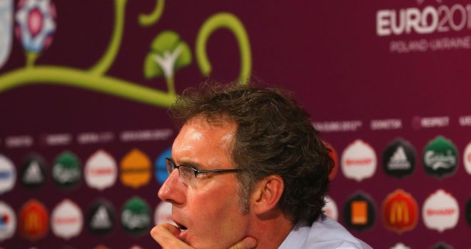 Laurent Blanc: Expected to be named the new manager of Paris Saint-Germain
