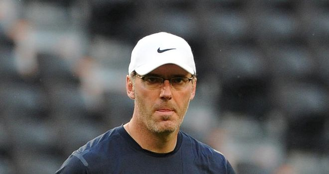 Laurent Blanc: France's manager knows there is a huge task ahead to upset Spain at Euro 2012