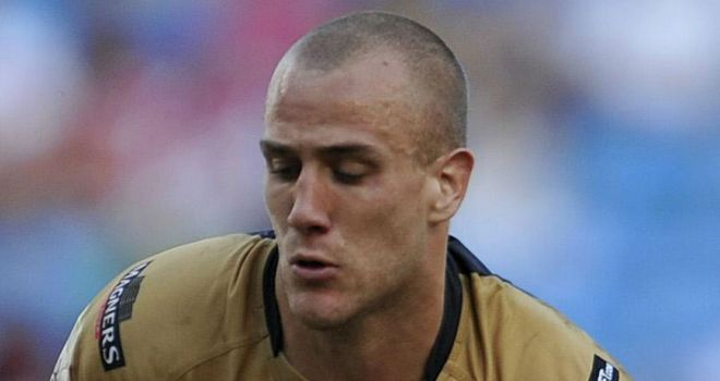 Lee Mossop: Out for three months with dislocated shoulder