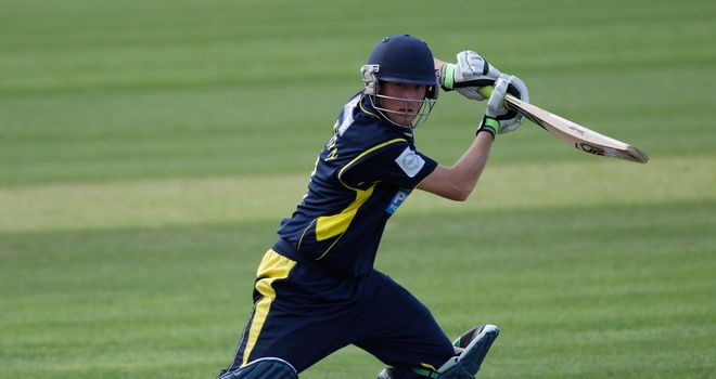 Liam Dawson: Hampshire batsman's 54 not out steered side home