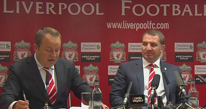 Brendan Rodgers: New Liverpool manager