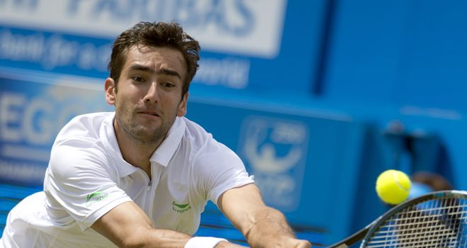 Marin Cilic: Through to Queen's final