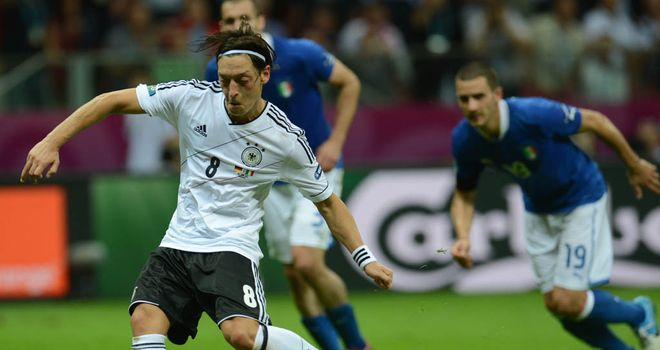 Mesut Ozil: Defended Germany after semi-final loss to Italy sparked criticism