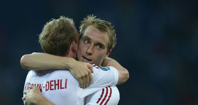 Christian Eriksen: Played a low-key role as Denmark upset Holland
