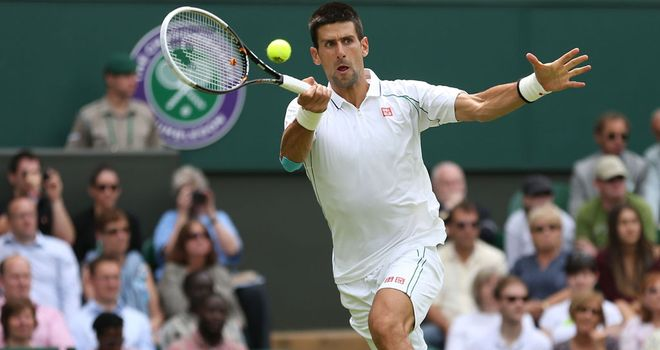 Novak Djokovic: Straight sets win on opening day